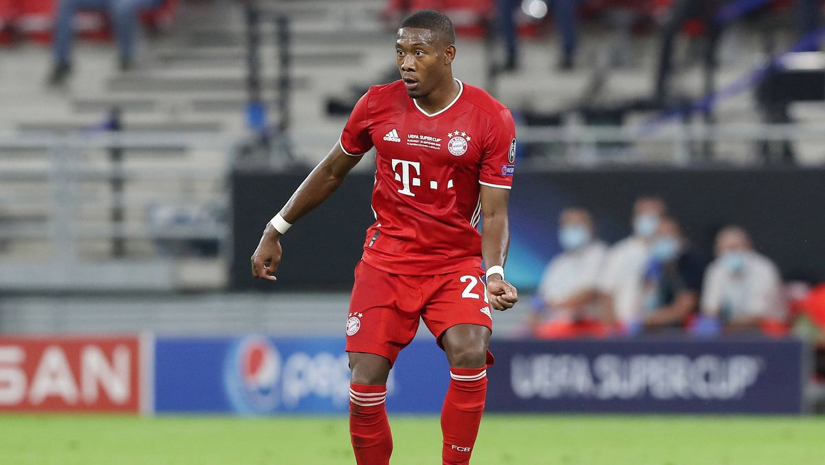 David Alaba im Supercup-Finale