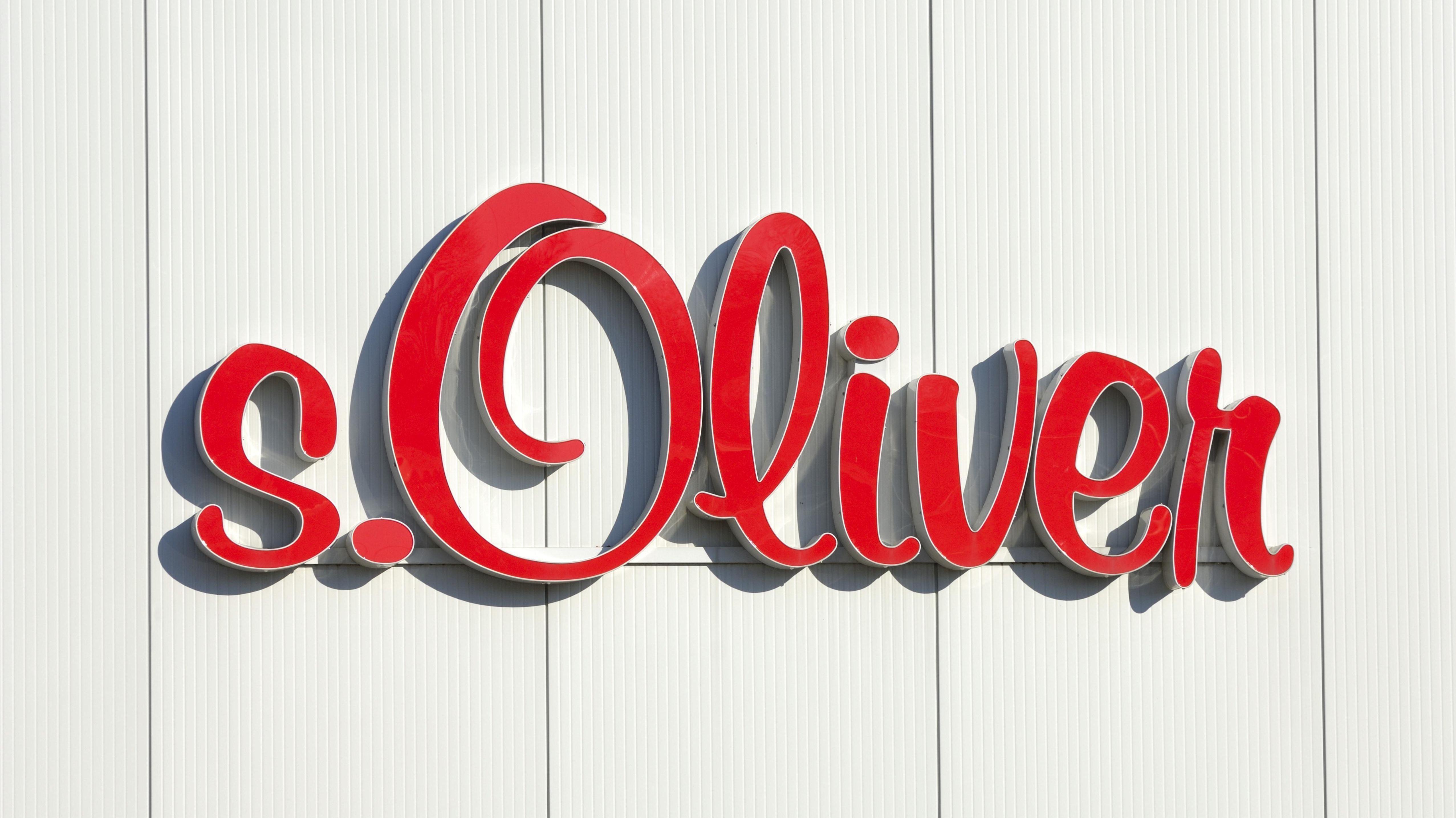 s.Oliver-Schriftzug