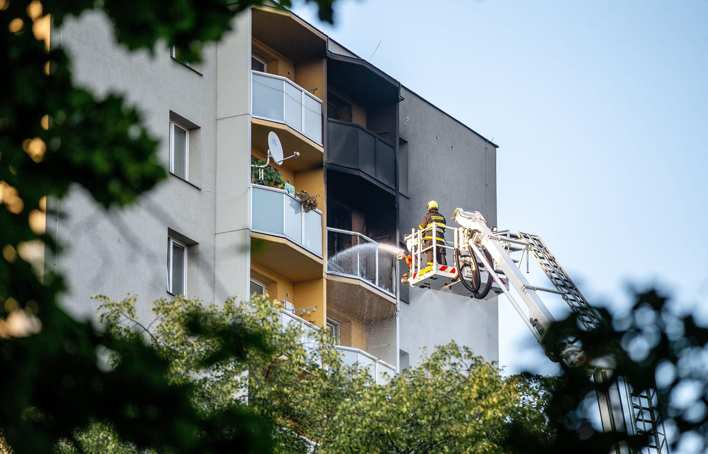 Tote bei Hochhausbrand in Tschechien