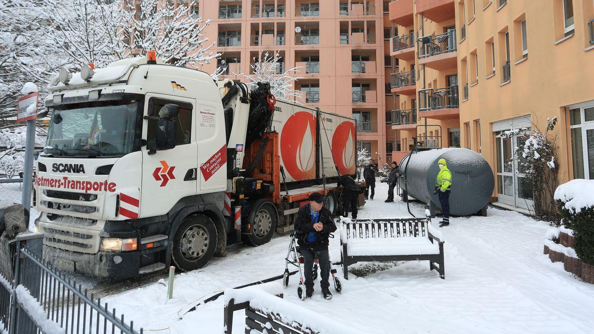 Sechs mobile Heizanlagen wurden bisher in Nürnberg installiert.