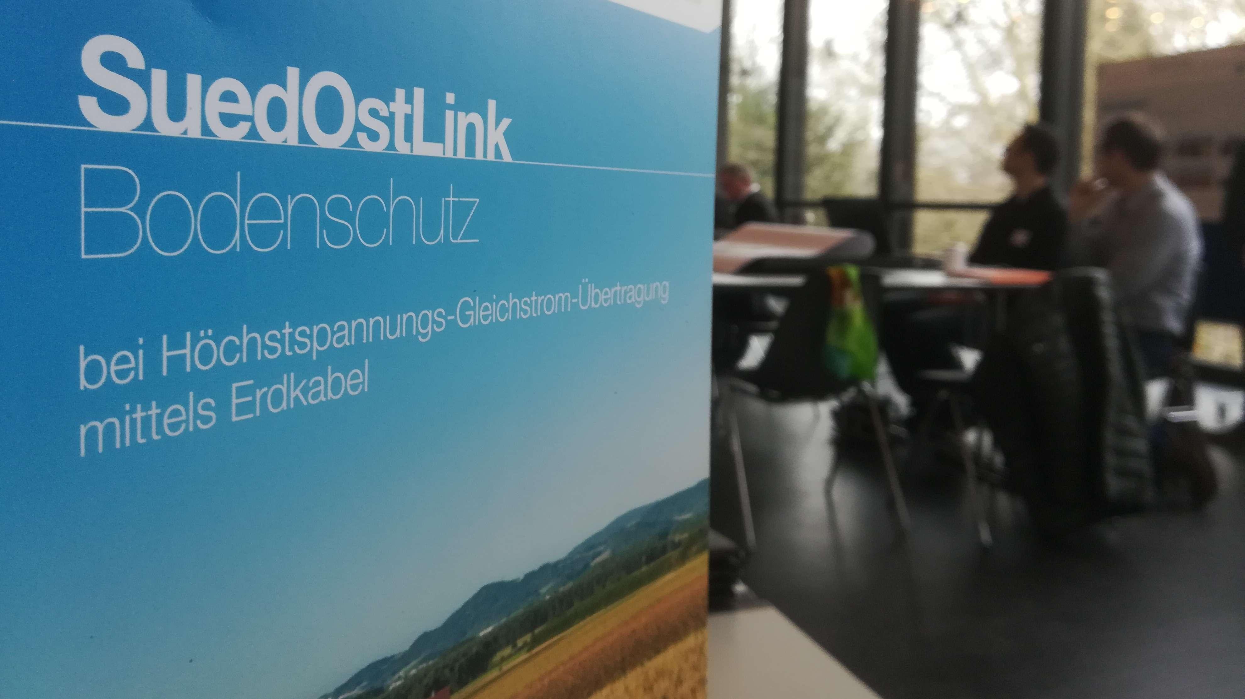 Der Süd-Ost-Link soll nach seiner Fertigstellung Strom aus Norddeutschland in den Süden transportieren.