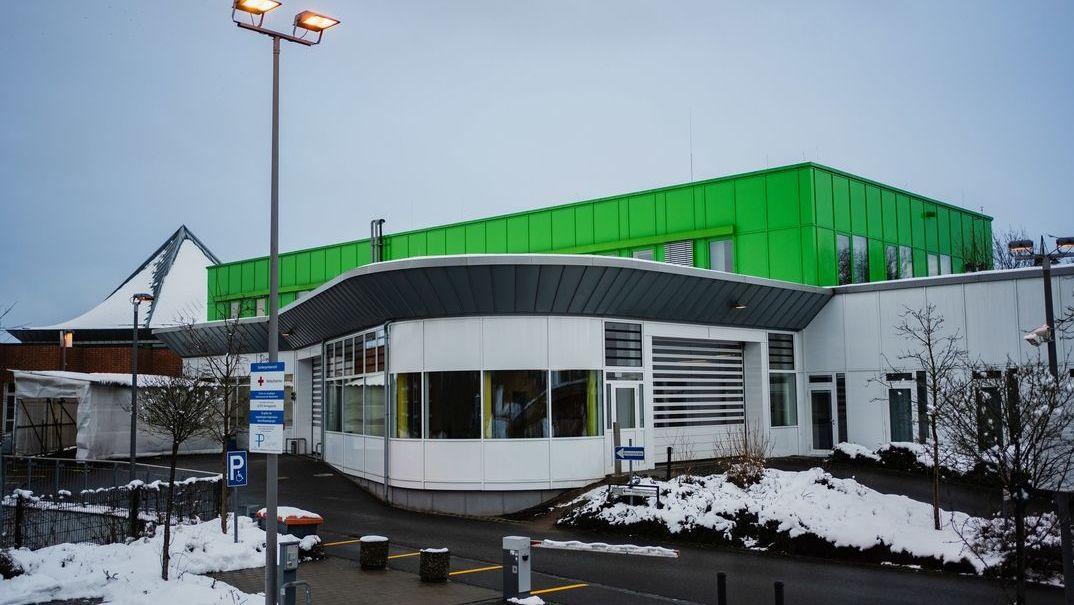 Die Notaufnahme des Klinikums Bayreuth.