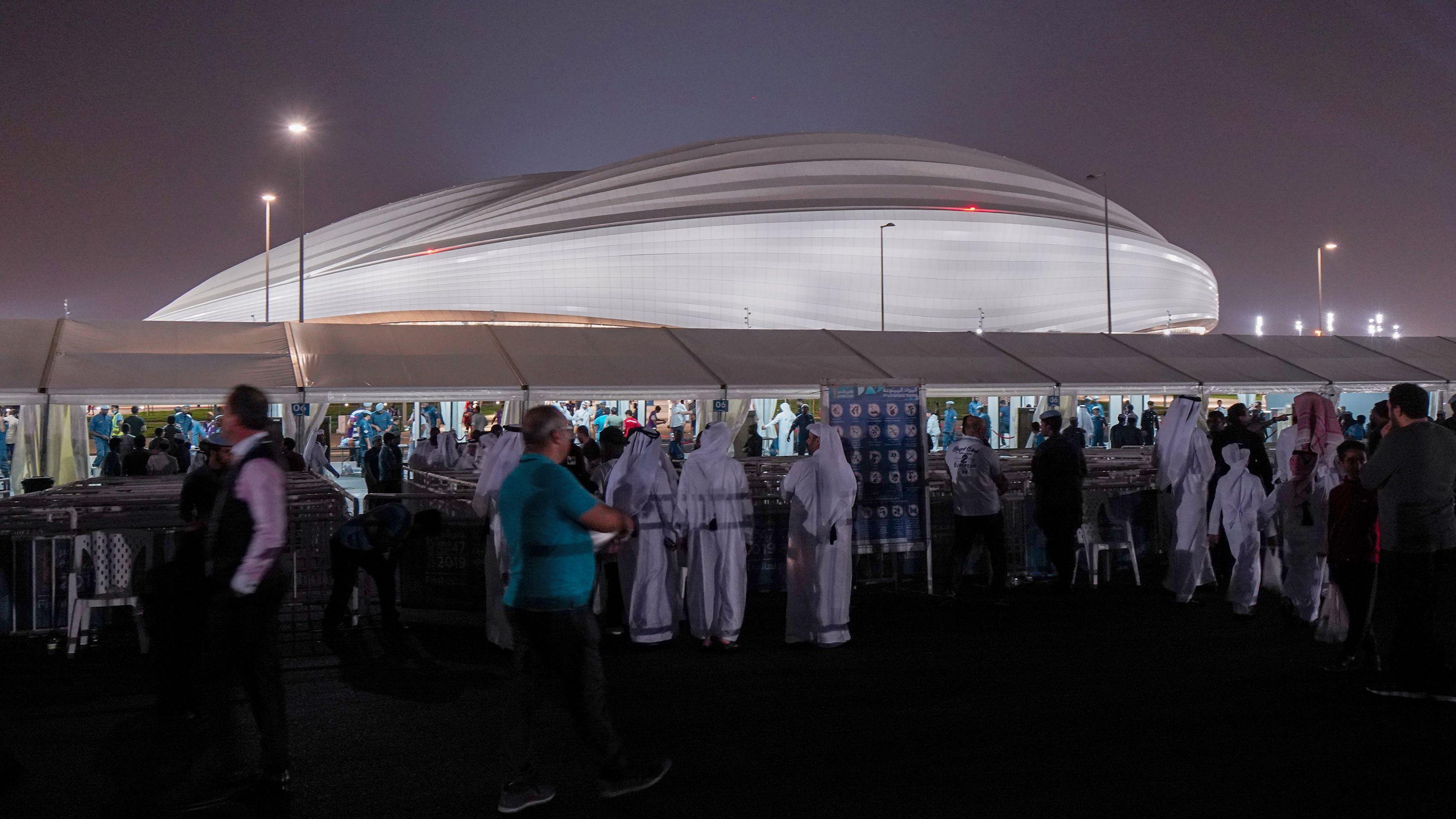 Al-Wakrah-Stadion in Katar
