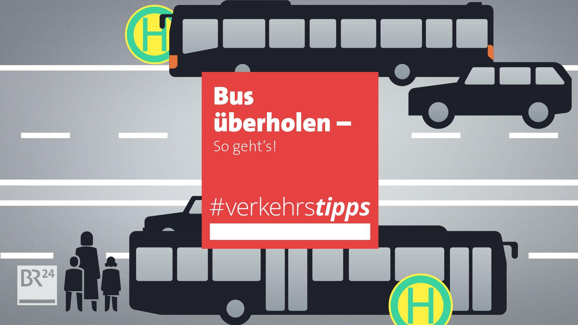 Bus überholen