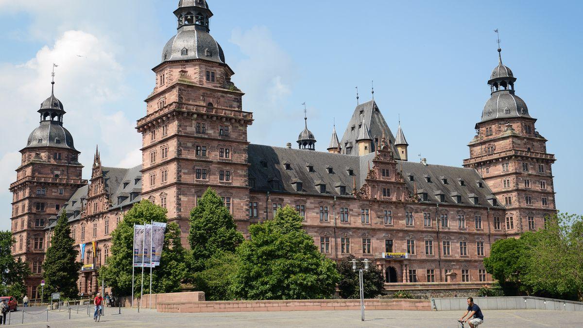 Das Aschaffenburger Schloss.