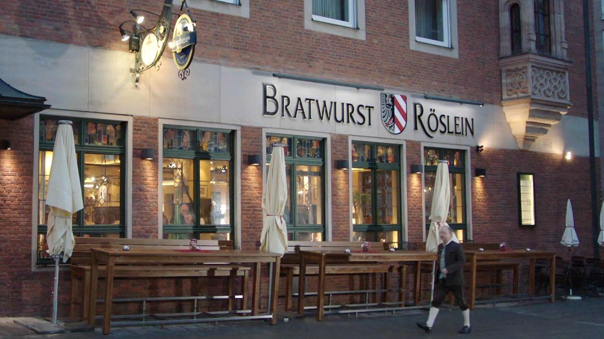 Bratwurst Röslein in Nürnberg
