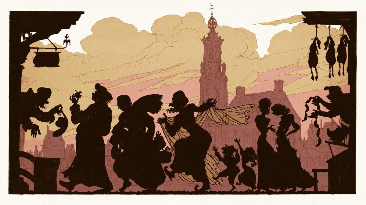 """Ausschnitt aus dem Comic """"Rembrandt"""" von Typex"""