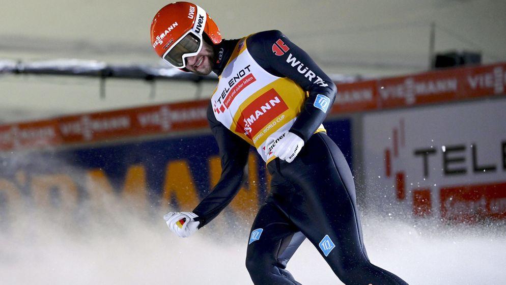 Markus Eisenbichler gewinnt in Ruka | Bild:picture-alliance/dpa