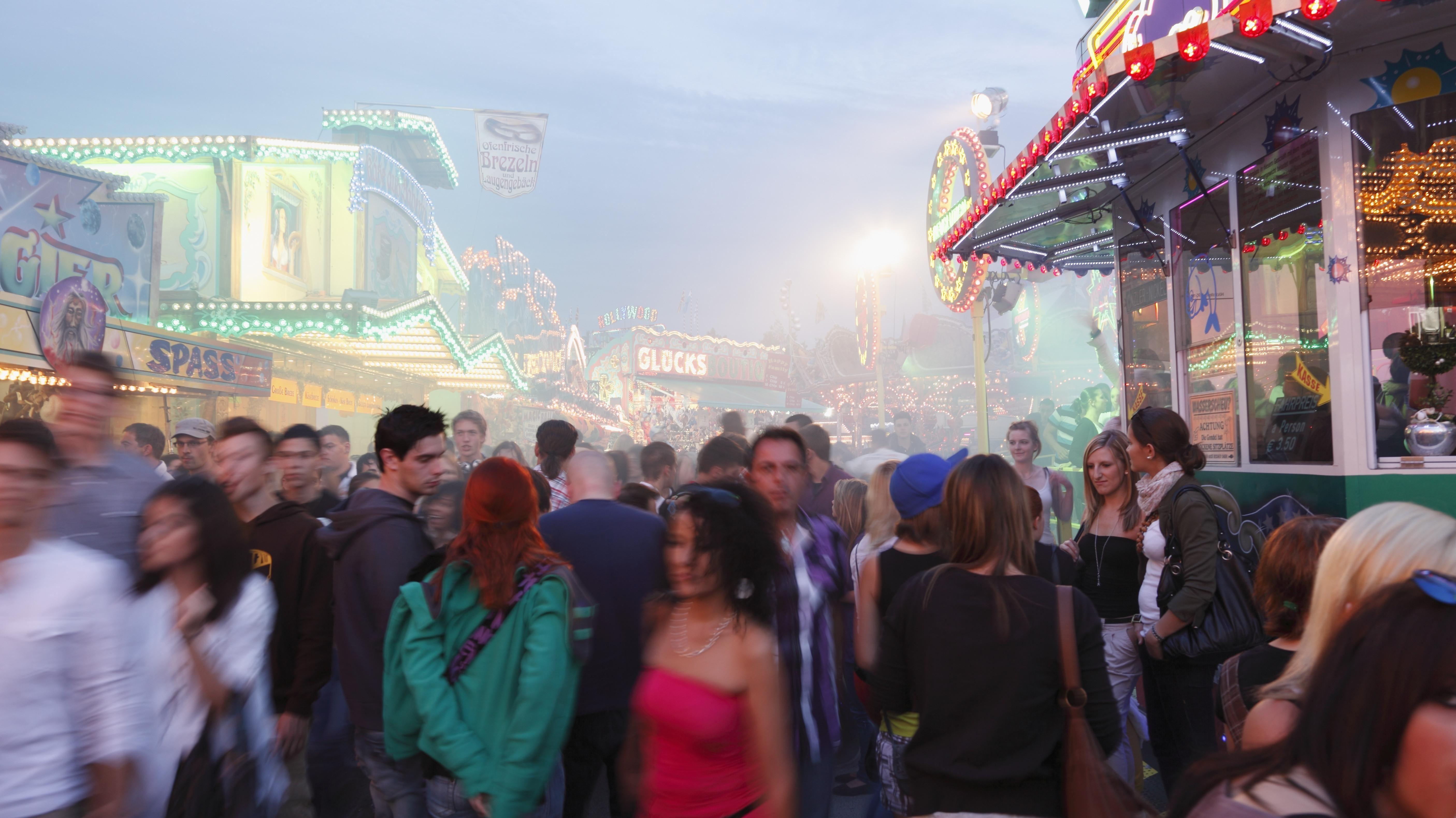 Kiliani Volksfest in Würzburg