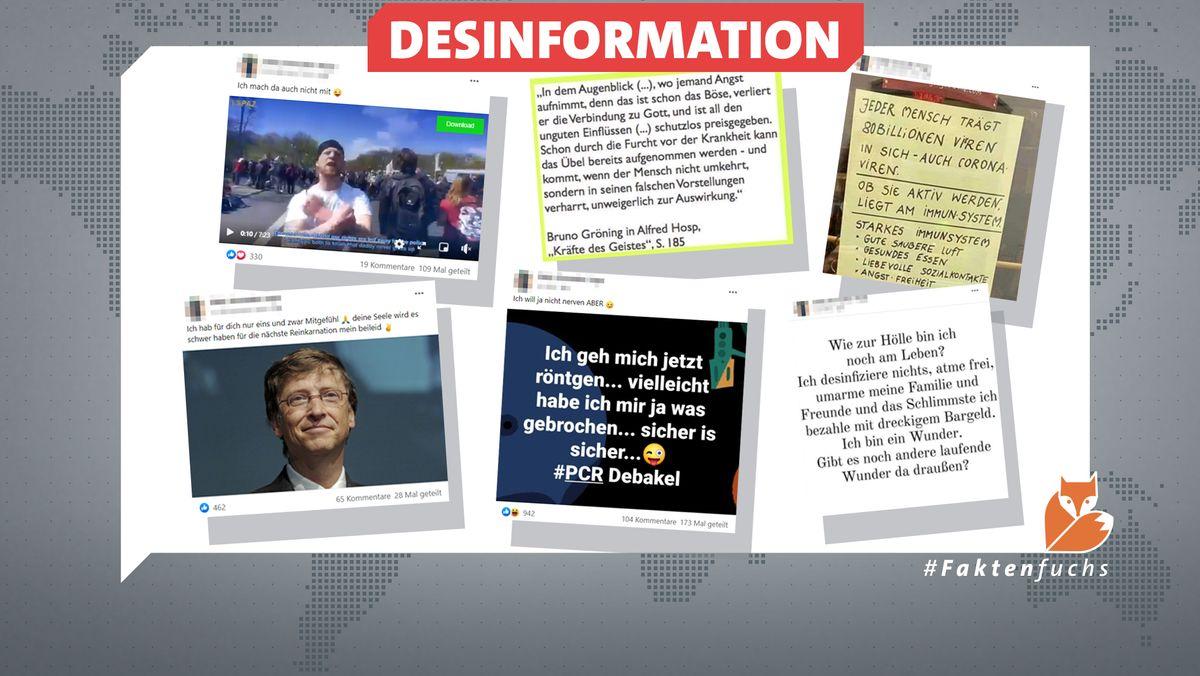 Von Corona-Verharmlosung über Bill Gates bis hin zu einem Video mit Gewaltaufrufen: Was ein bayerischer Yogalehrer auf Facebook verbreitet.