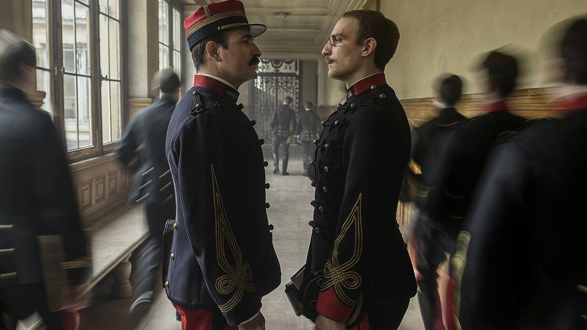 """Eine Szene aus dem Polanski-Film """"J'accuse – Ein Offizier und ein Spion"""""""