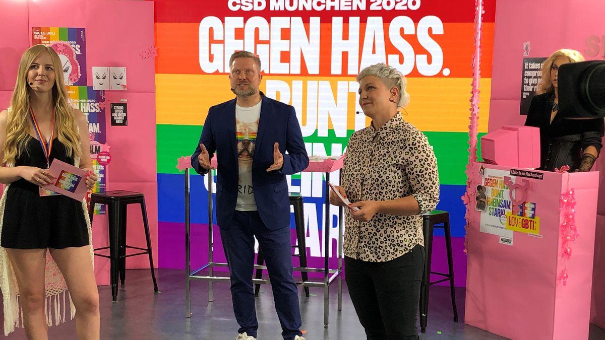 Gegen Hass: 18 Stunden Livestream im Internet sollen aus einem Münchner Studio gesendet werden.
