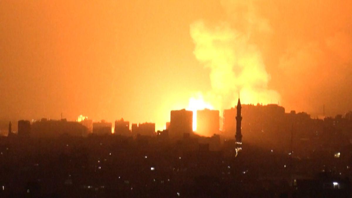 Israelischer Angriffauf Gaza