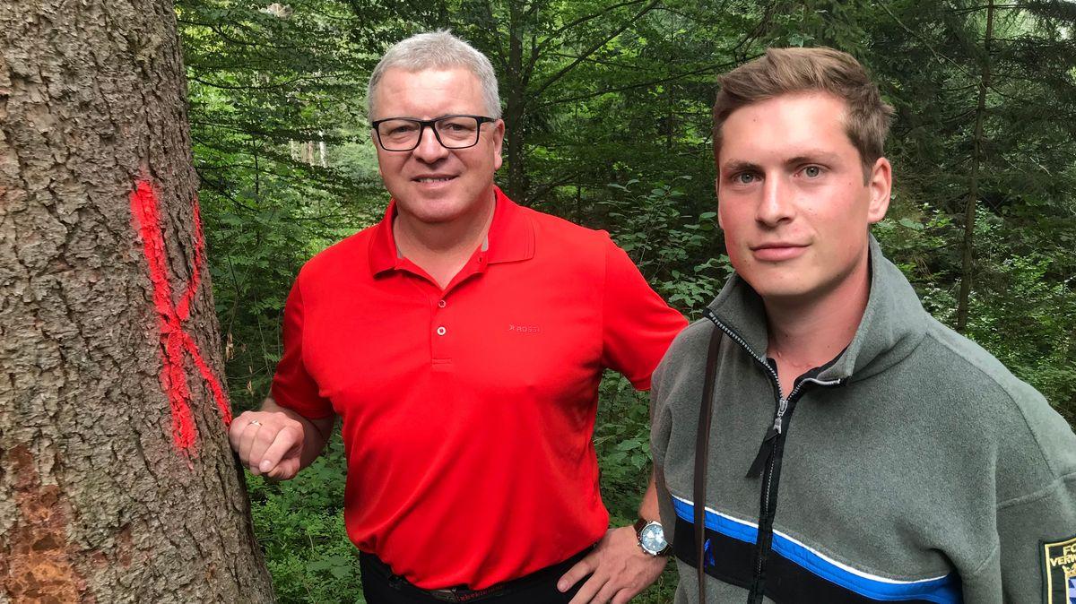 Georg Veit und Florian Hofinger