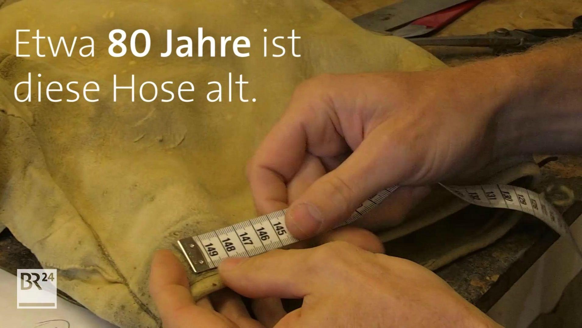 Lederhosen Upcycling: 80 Jahre alte Tracht ganz neu