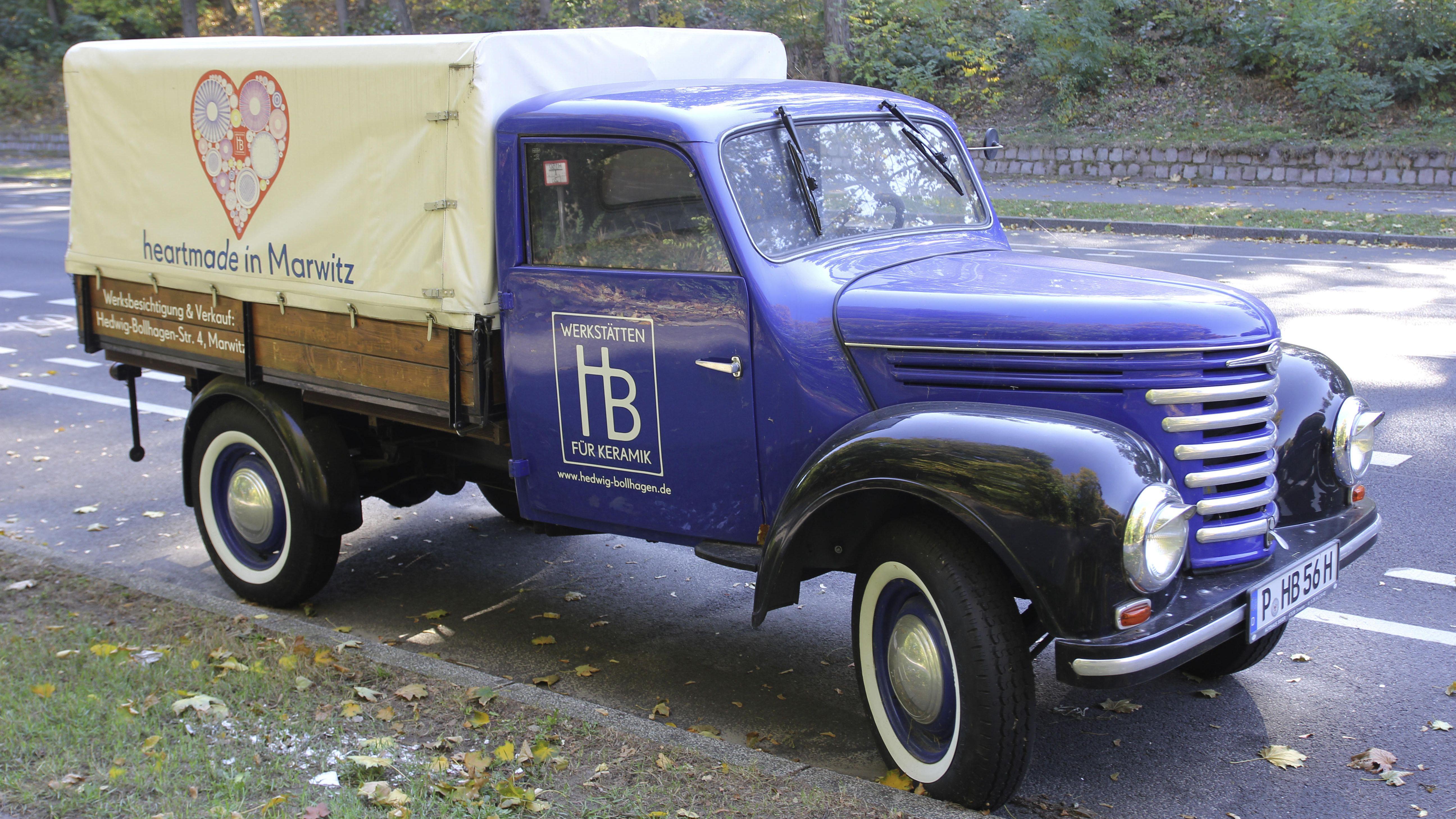 Fast amerikanisch mutet der Framo V901 an, den die Barkas-Werke in Karl-Marx-Stadt 1954-1961 produzieren.