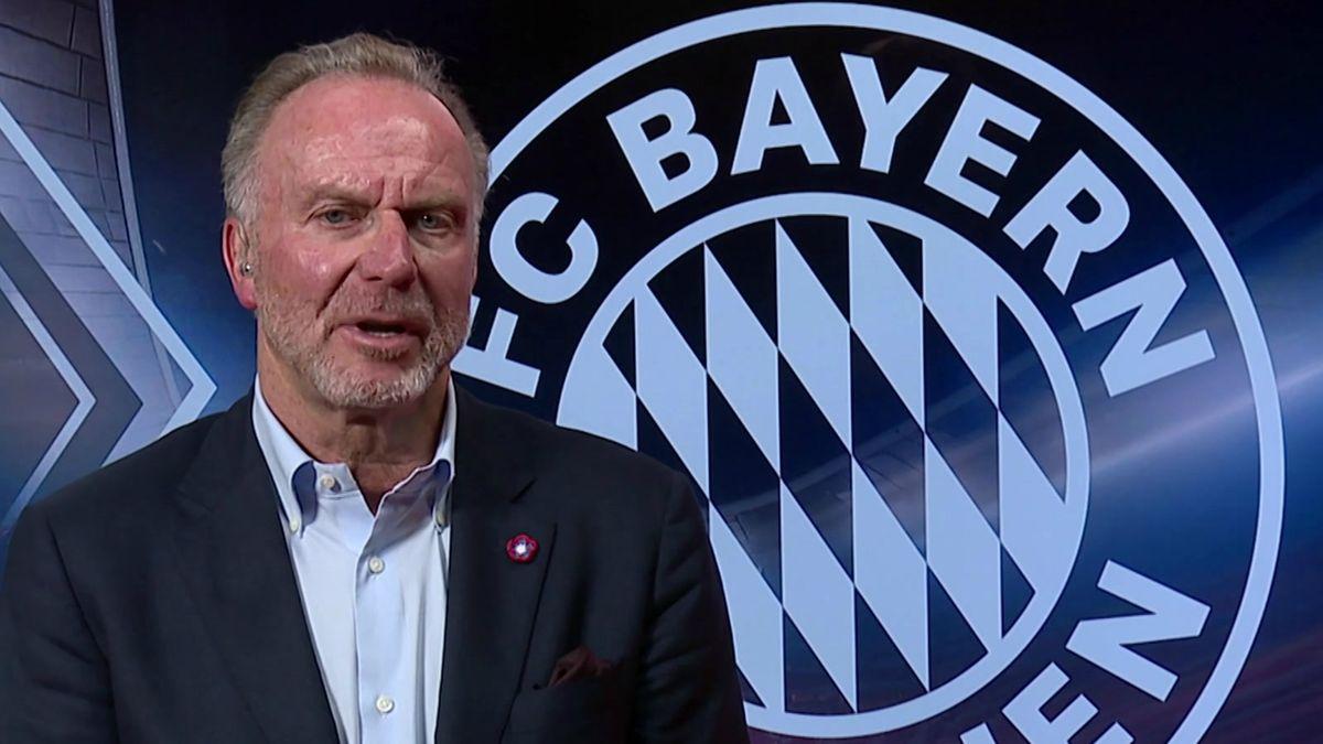 Karl-Heinz Rummenigge, Vorstandschef des FC Bayern