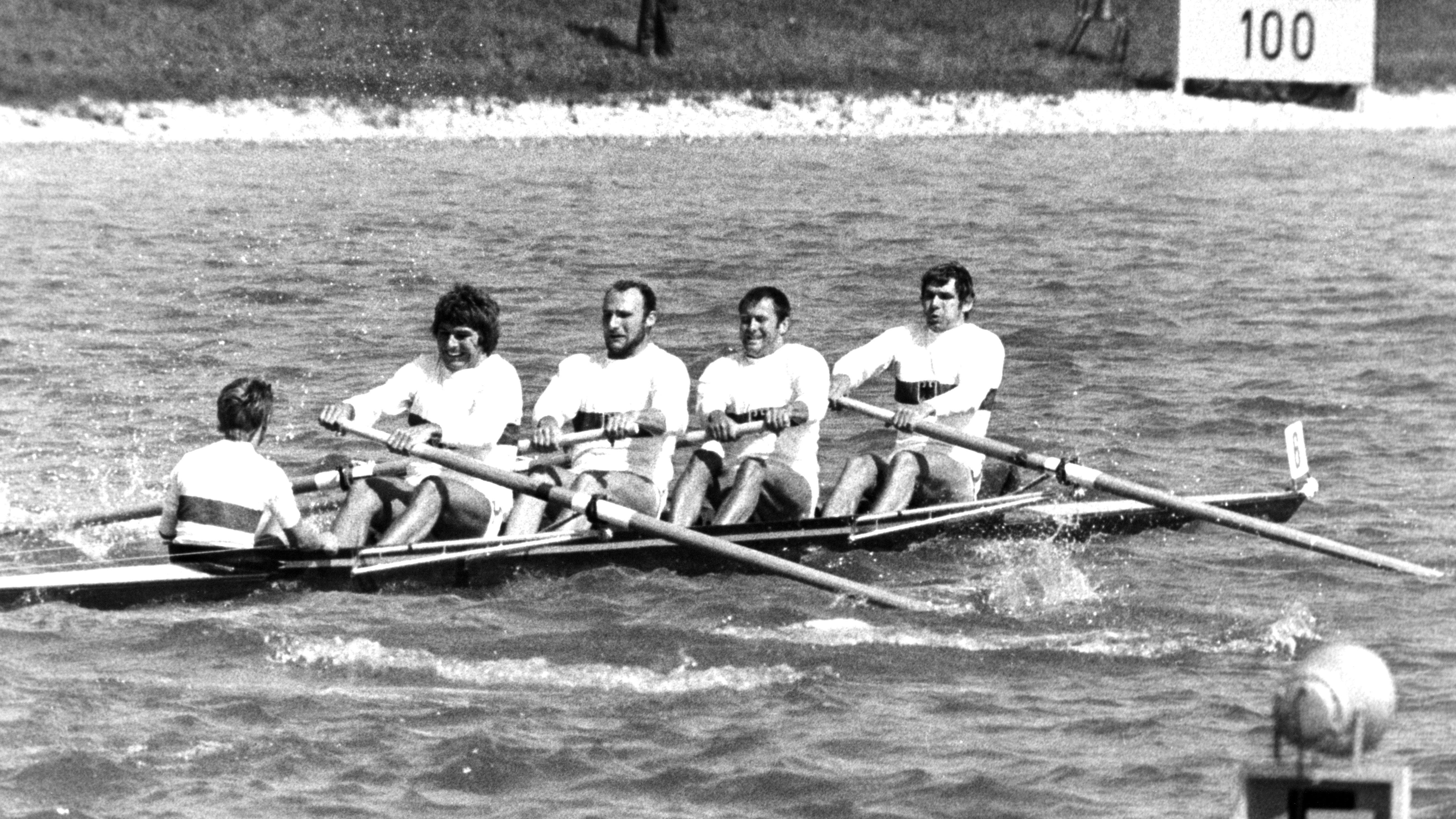 Hans-Johann Färber gewann 1972 Gold im Vierer