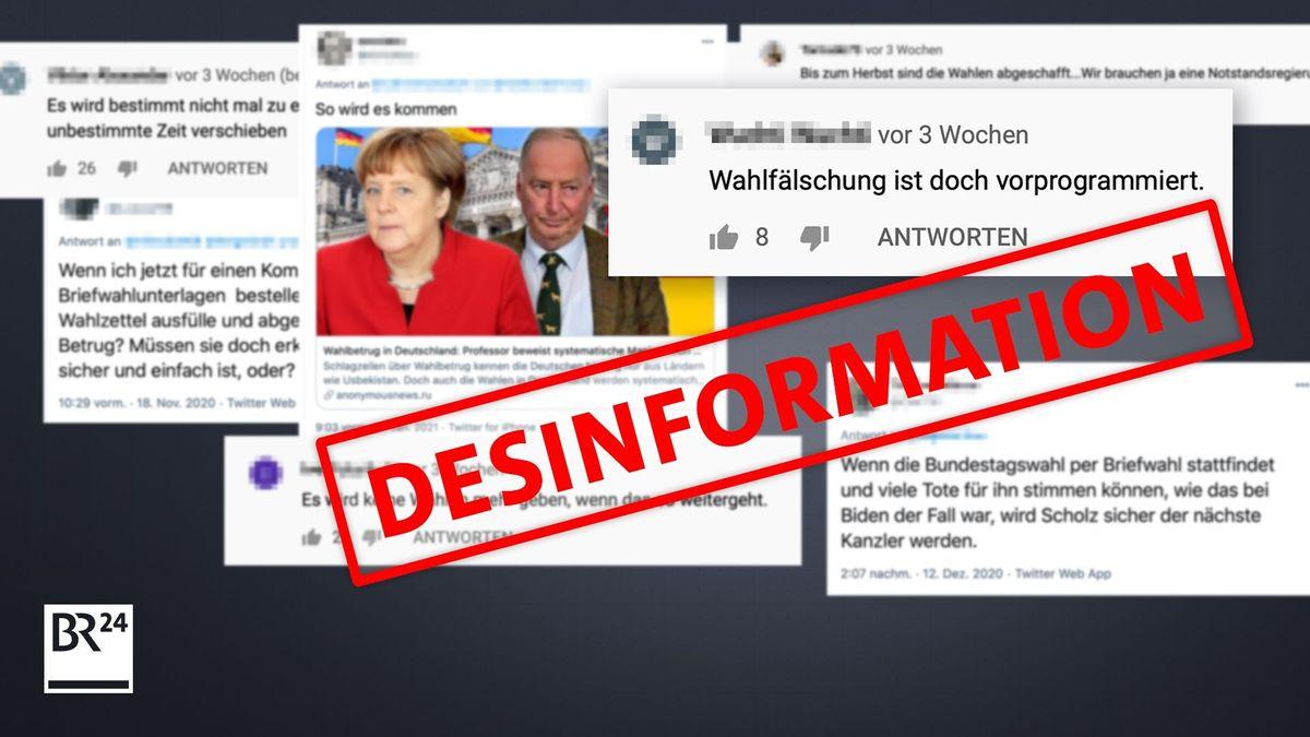 Schon jetzt werden Gerüchte rund um die Bundestagswahl gestreut. Der #Faktenfuchs klärt, was an den häufigsten Behauptungen dran ist.