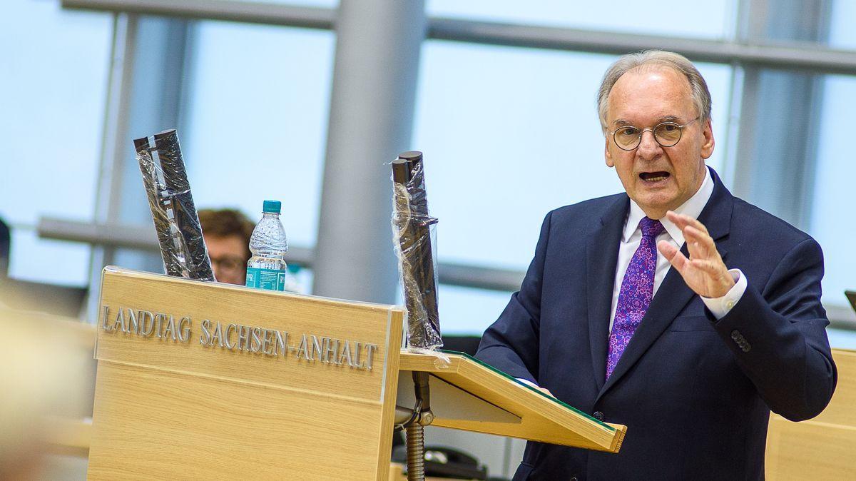 Reiner Haseloff (M, CDU), Ministerpräsident des Landes Sachsen-Anhalt