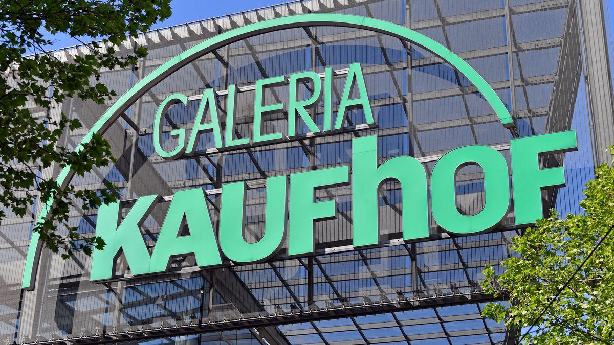 Blick auf eine Filiale von Galeria Karstadt Kaufhof