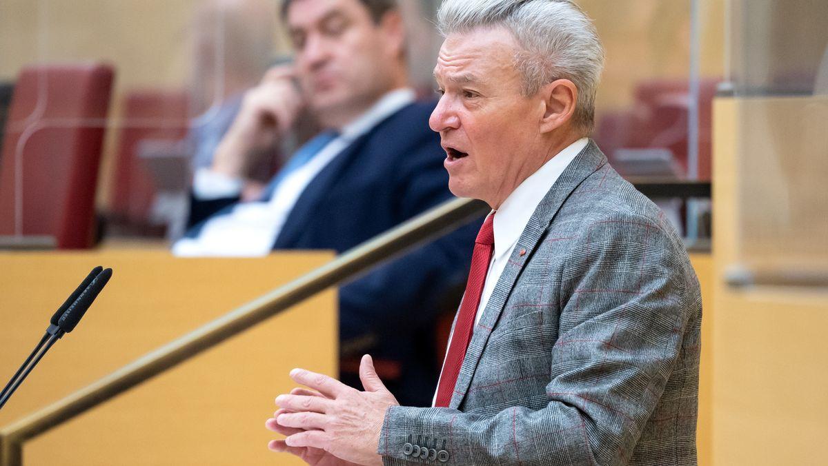 SPD-Fraktionsvorsitzender Horst Arnold