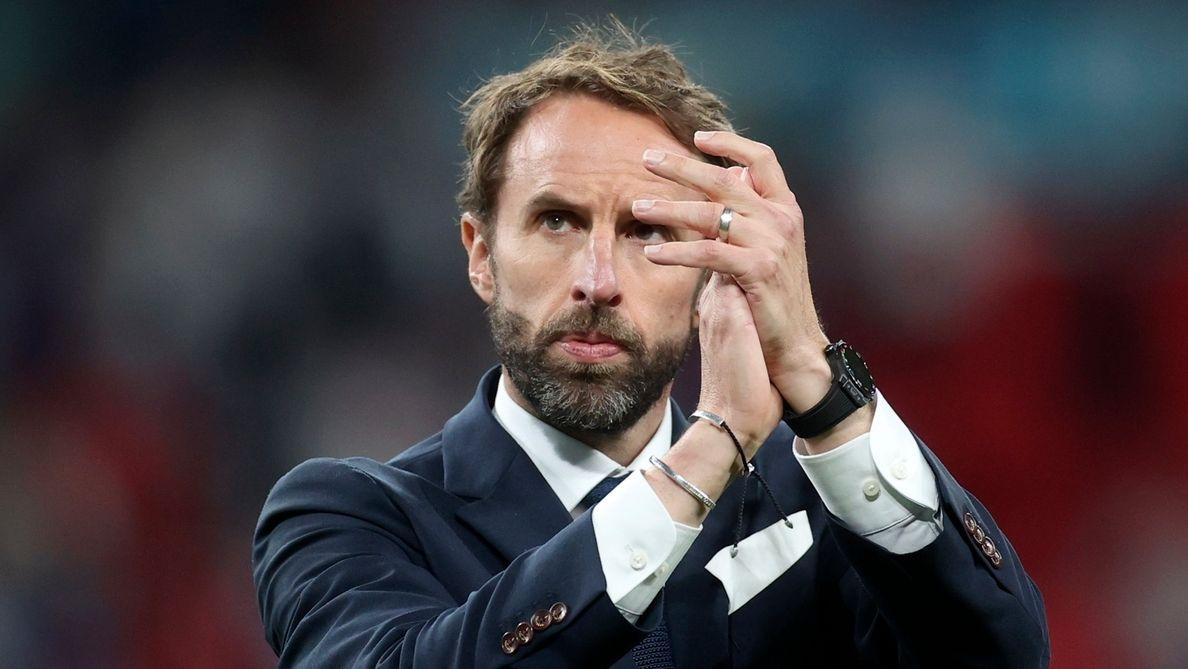 Englands Nationaltrainer Gareth Southgate