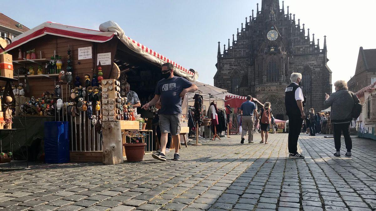 Herbstmarkt am Nürnberger Hauptmarkt
