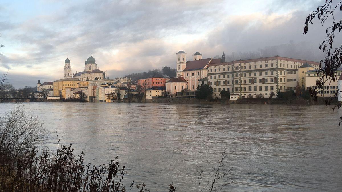 Passau erwartet am Wochenende Hochwasser