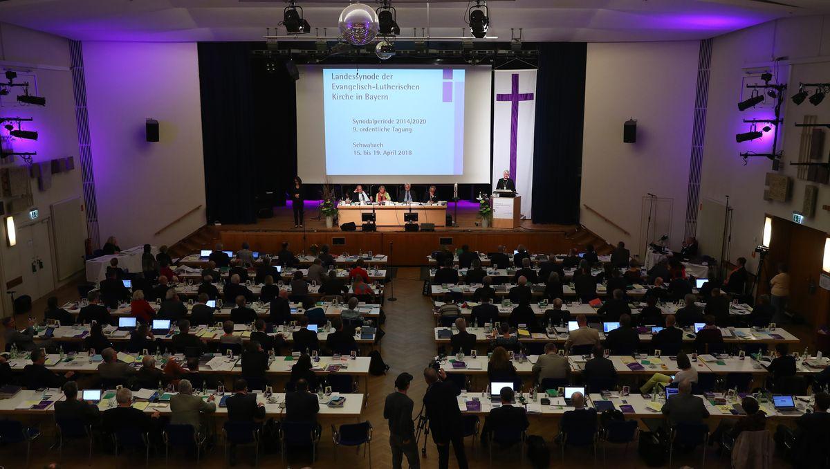 Tagung der bayerischen Landessynode in 2018