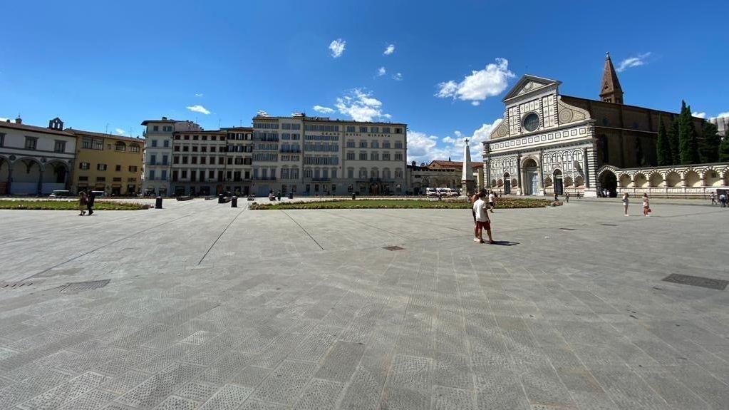 Platz vor der Kirche Santa Maria Novella