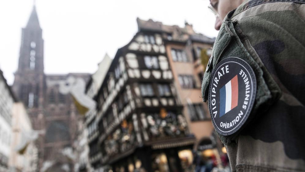 Straßburg nach dem Anschlag  | Bild:dpa-Bildfunk