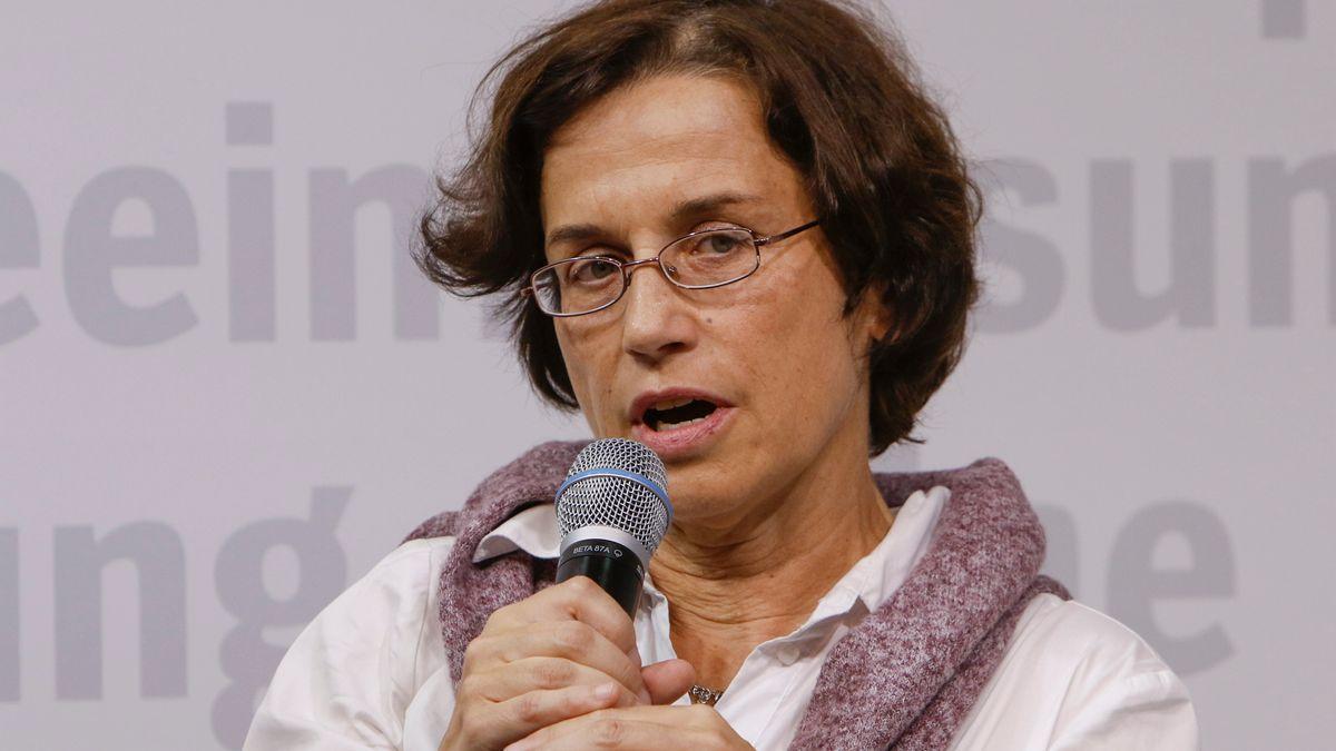 Cornelia Koppetsch 2019 bei der Frankfurter Buchmesse