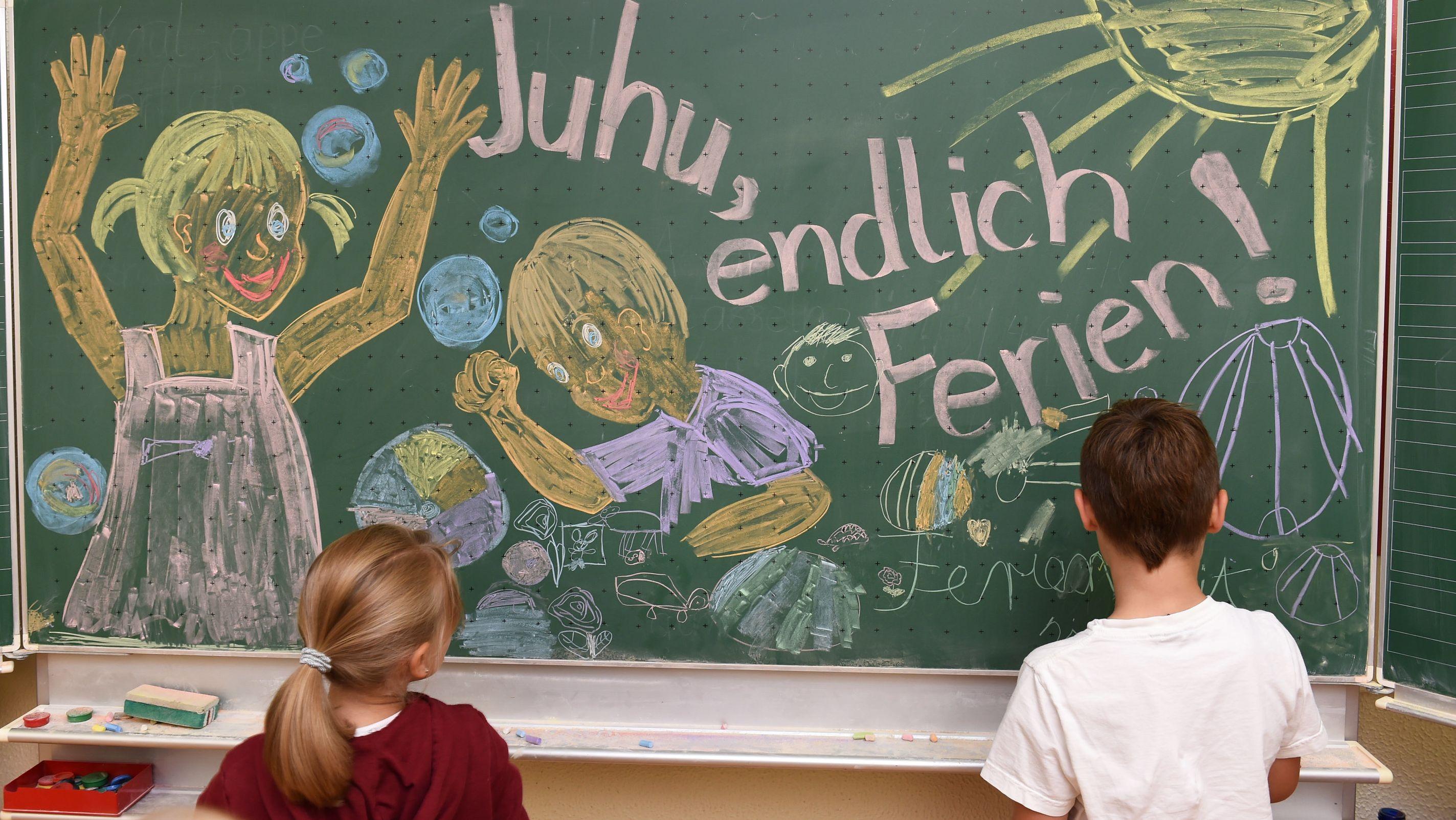 In Bayern und Baden-Württemberg beginnen heute die Sommerferien