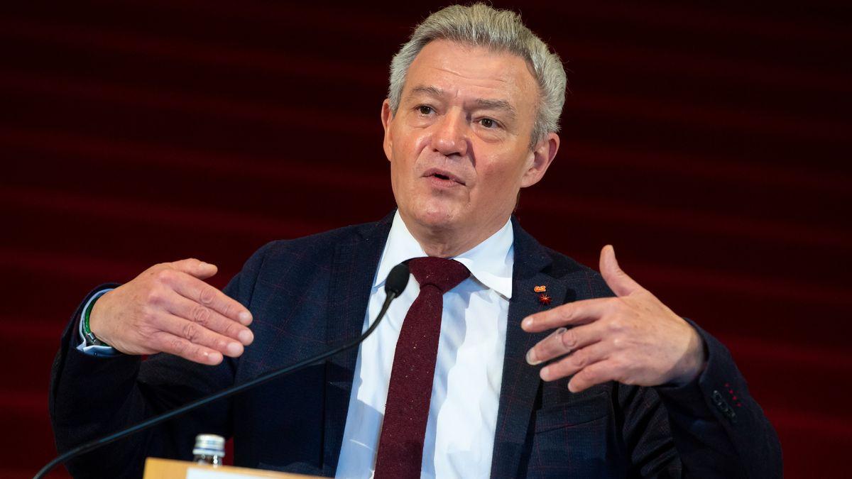 Der amtierende SPD-Landtagsfraktionschef, Horst Arnold