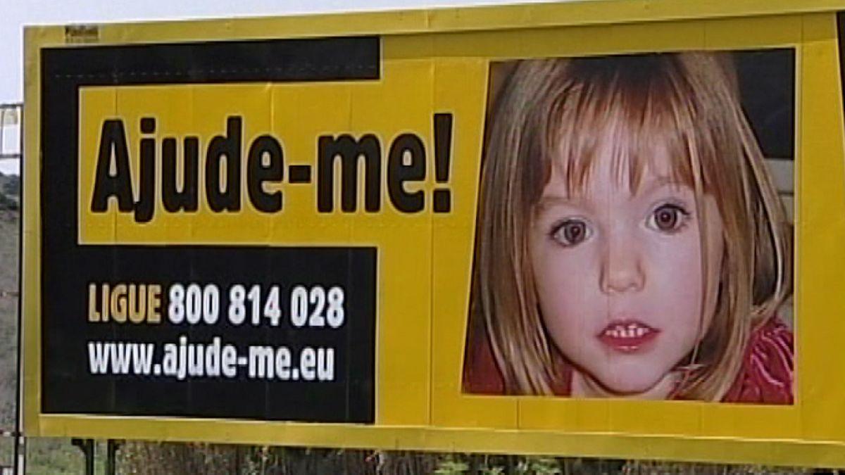 Such-Plakat Madeleine McCann