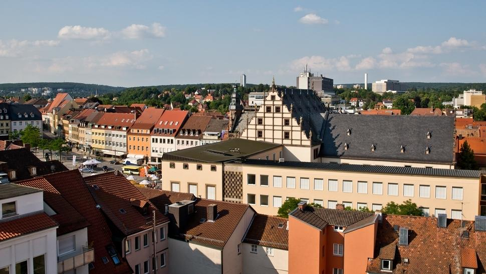 Ansicht Stadt Schweinfurt