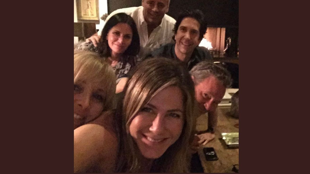 "Jennifer Anistons Selfie mit ""Friends"" auf Instagram"