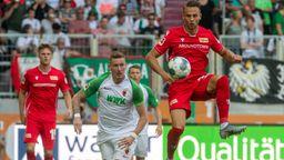 Spielszene FC Augsburg - Union Berlin   Bild:picture-alliance/dpa