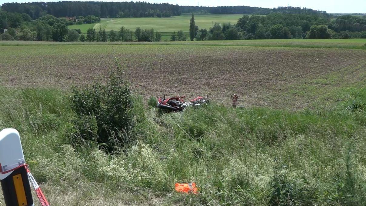 Motorradfahrer bei Verkehrsunfall bei Neustadt an der Aisch tödlich verletzt