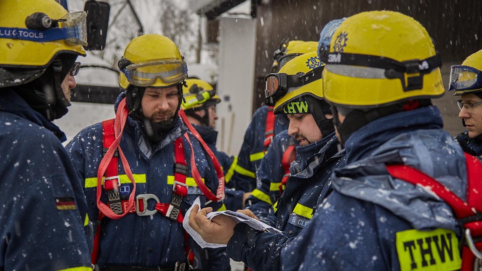 Einsatzkräfte aus Freising helfen in Traunstein