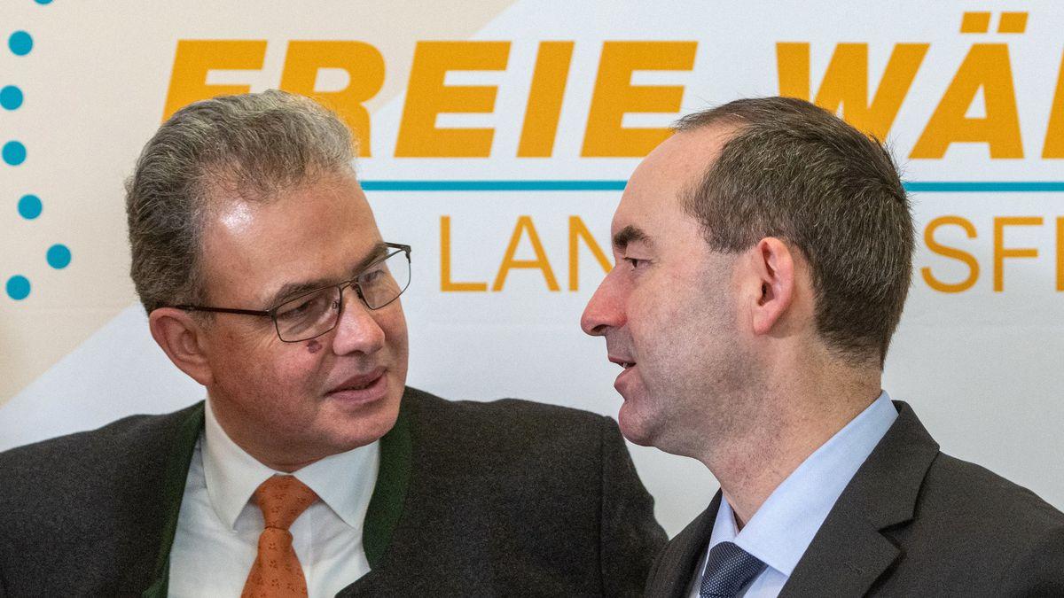 Florian Streibl und Hubert Aiwanger