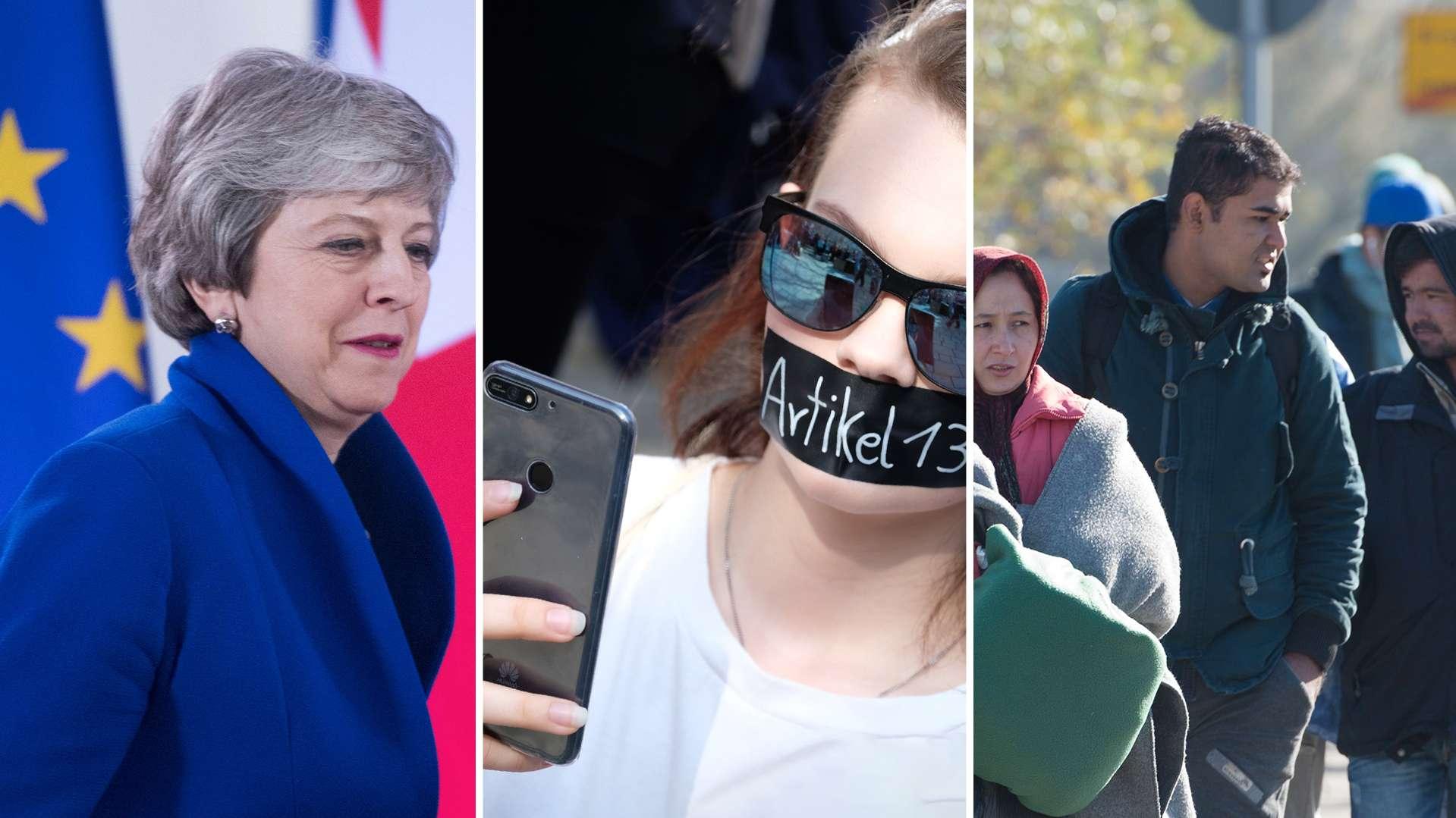 Brexit, Urheberrechtsreform und Migration