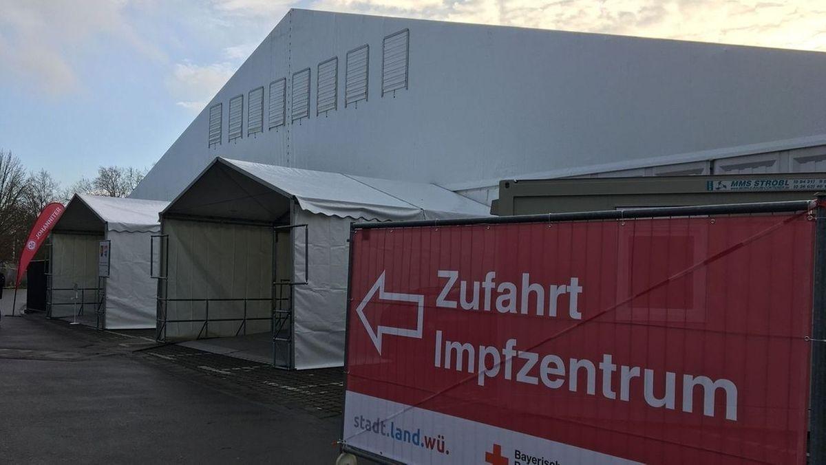 Impfzentrum auf der Würzburger Talavera