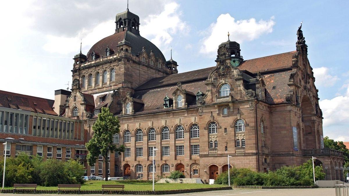 Das Staatstheater in Nürnberg