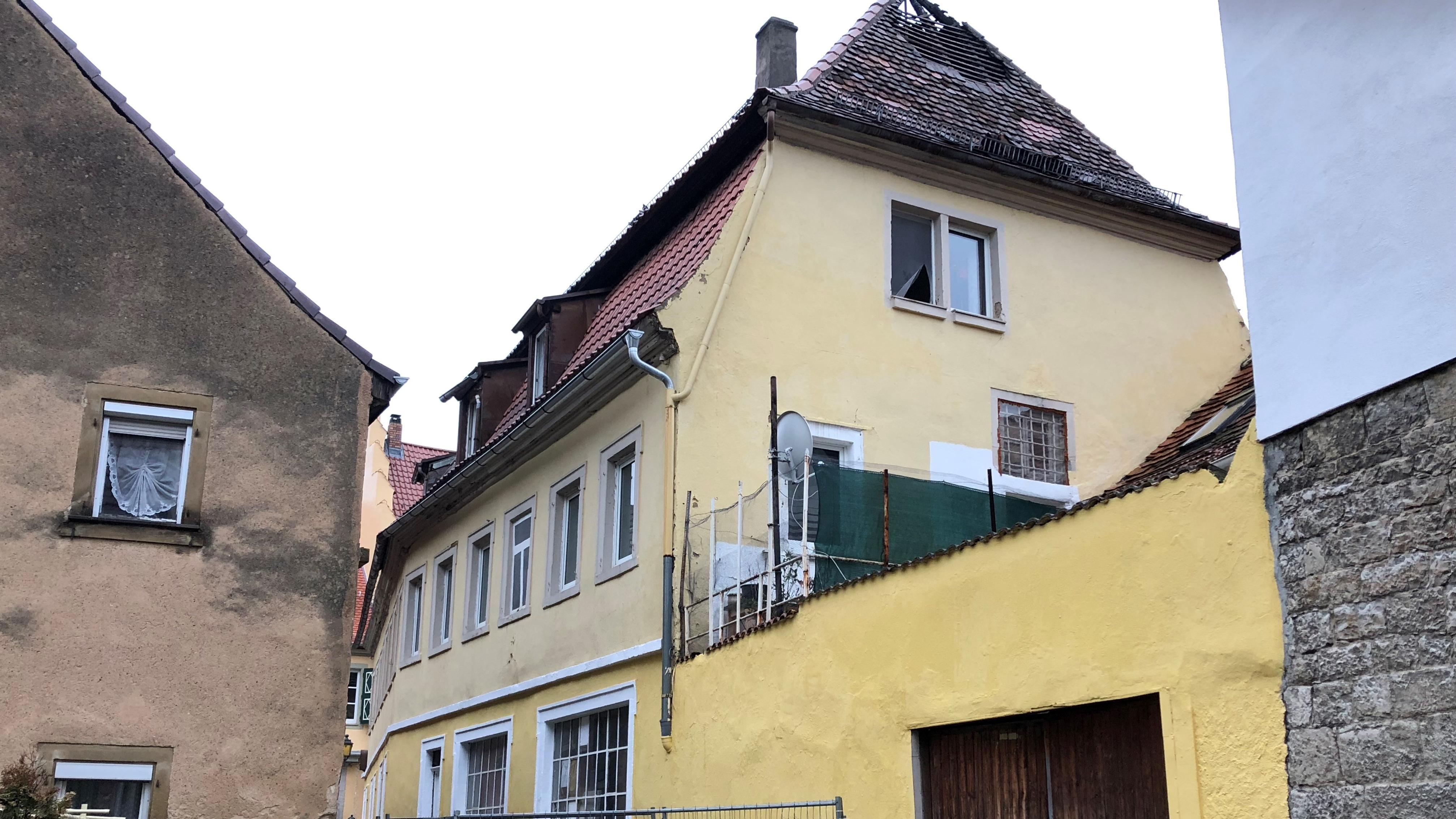 Nach dem Dachstuhlbrand in Ochsenfurt