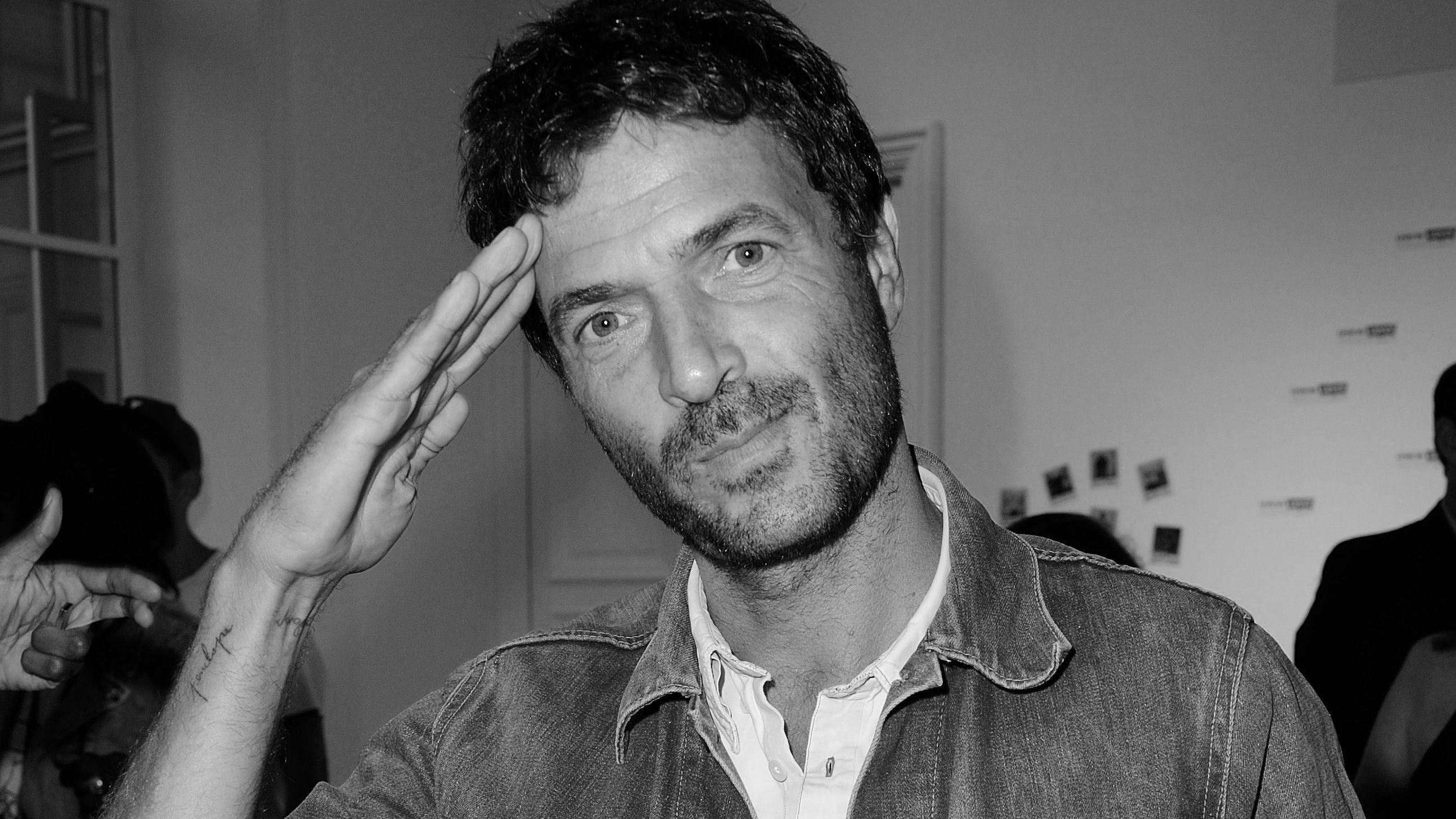 Der französische DJ Philippe Zdar
