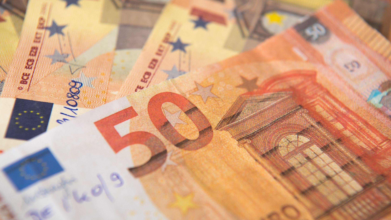 Falsche 50 Euro Scheine (Symbolbild).