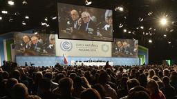 Der Verhandlungssaal der Klimakonferenz in Kattowitz | Bild:dpa-Bildfunk Czarek Sokolowski
