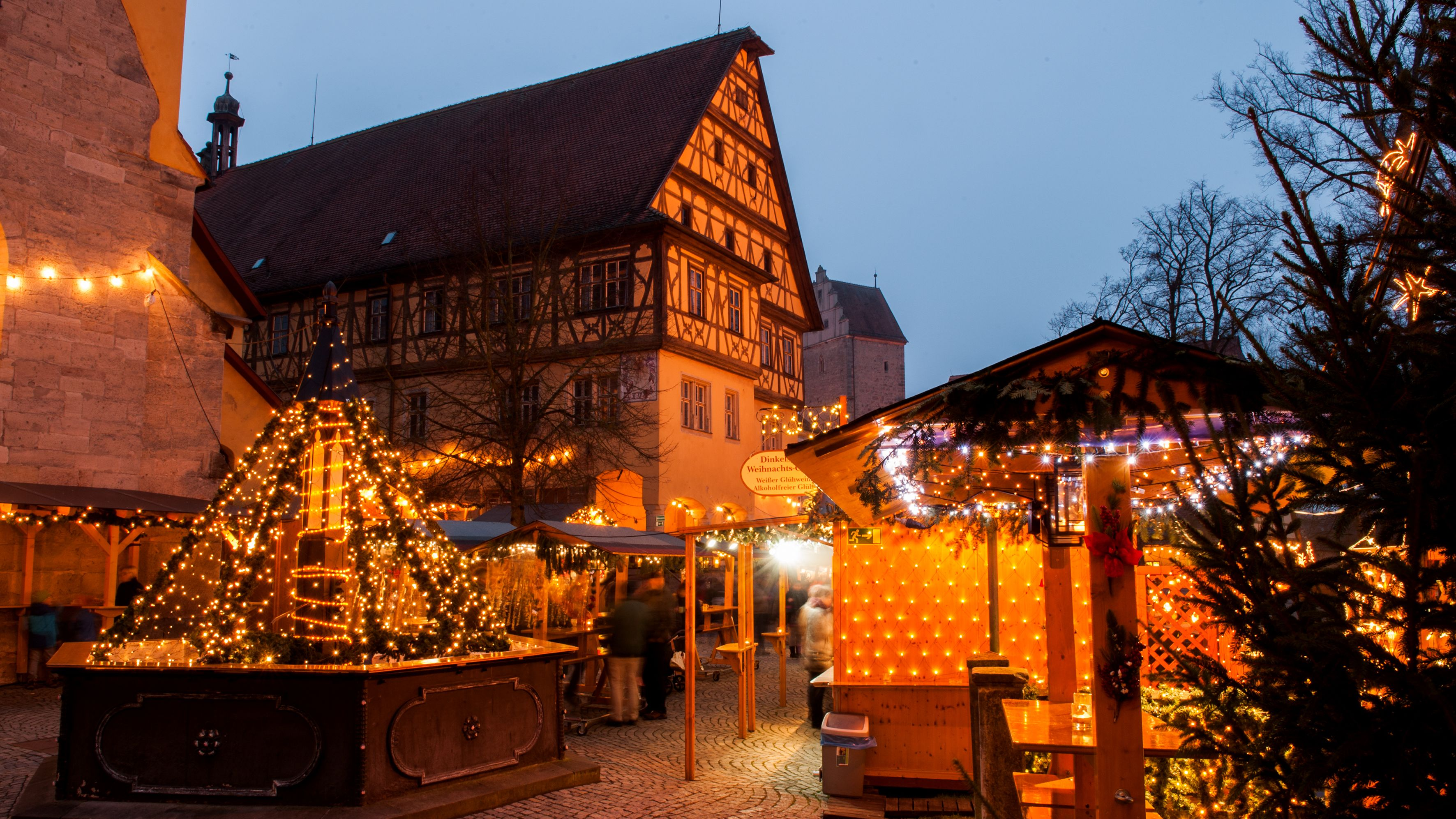 Weihnachtsmarkt Dinkelsbühl